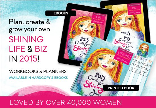 2015 Shining Life Biz Workbook Planner
