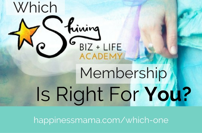 Choose the Shining Academy Membership For YOU